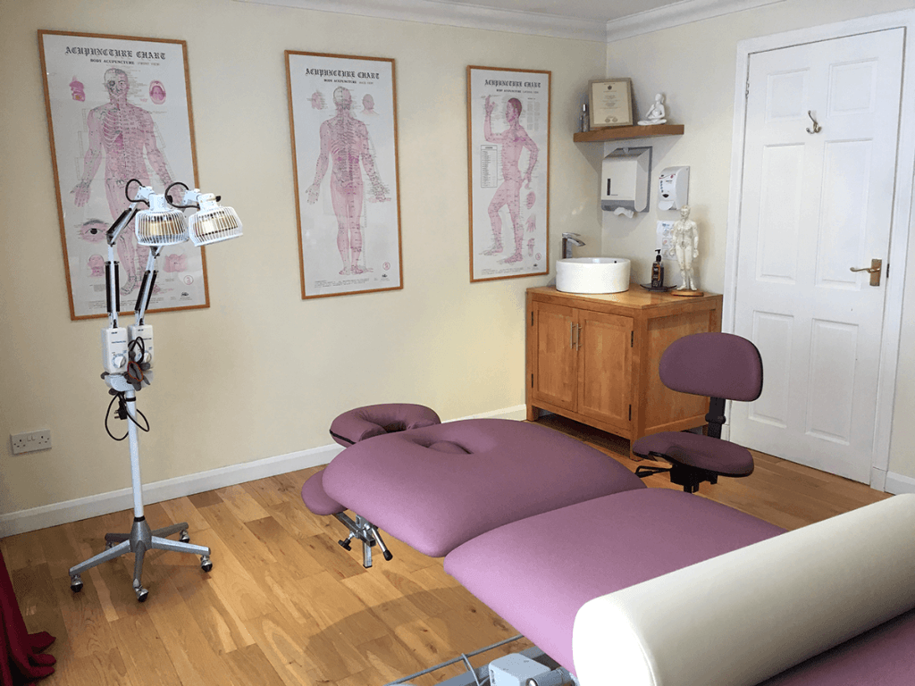 Inside Lucy Clarke Acupuncture Clinic