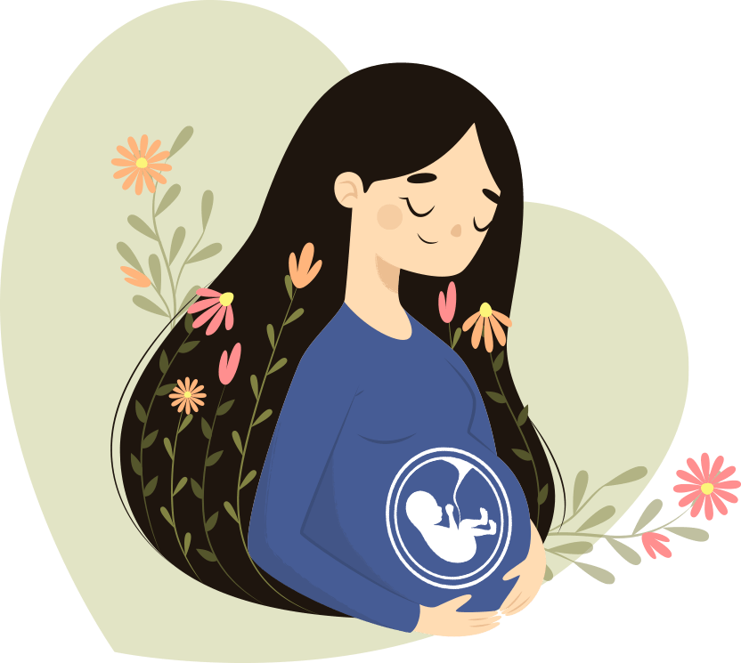 Pregnant woman graphic subscribe free fertility pdf